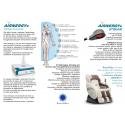 Séance de Thérapie oxygene Airnergy+ dans un fauteuil massant Supra France