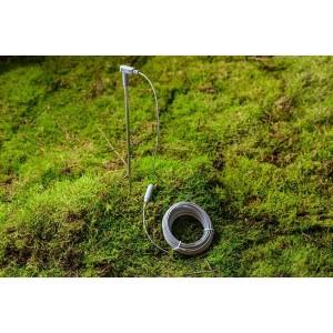 Tige métallique de terre earthing / mise à la terre