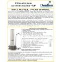 Filtre eau pure Doulton HCS INOX