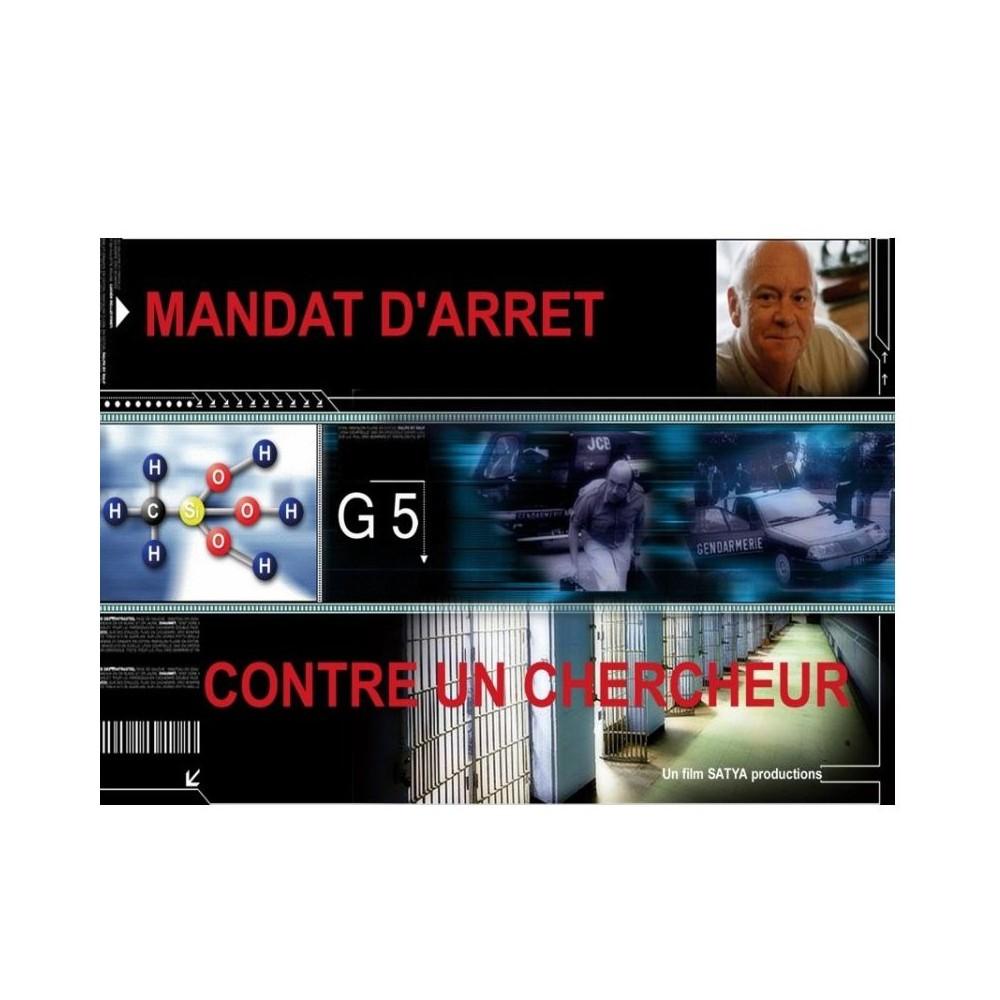 DVD Mandat d'arrêt contre un chercheur
