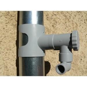 Lot : Capt'eau récupérateur d'eau + filtre d'eau de pluie