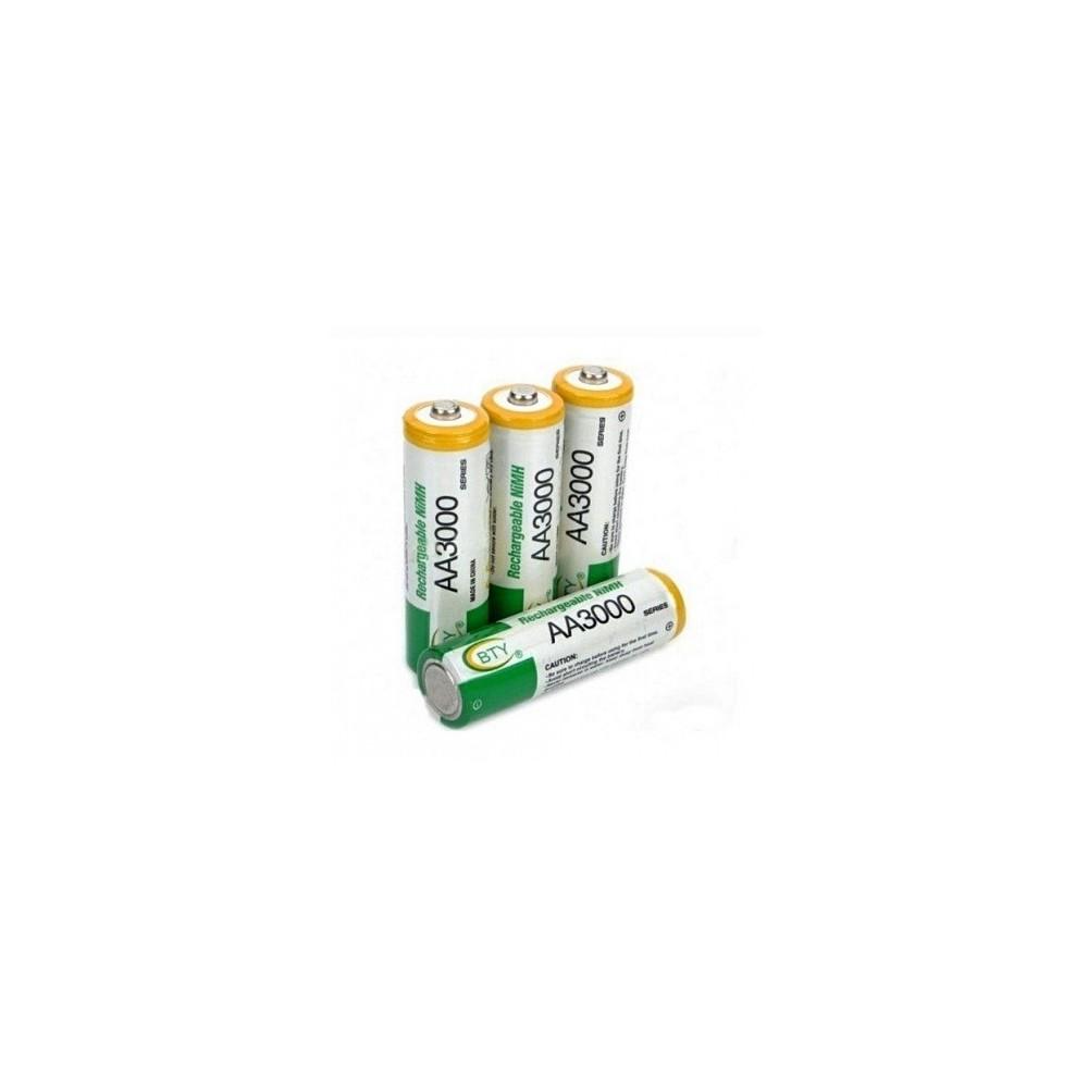 Lot de 4 Piles rechargeables LR06