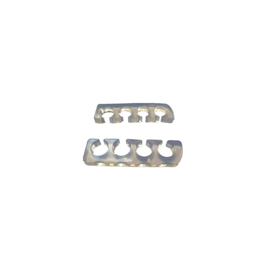 Séparateur d'orteilles silicone translucide