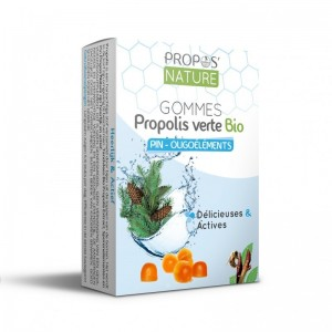 Gommes Propolis verte Bio