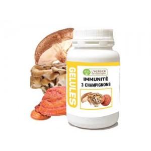 Immunité 3 Champignons