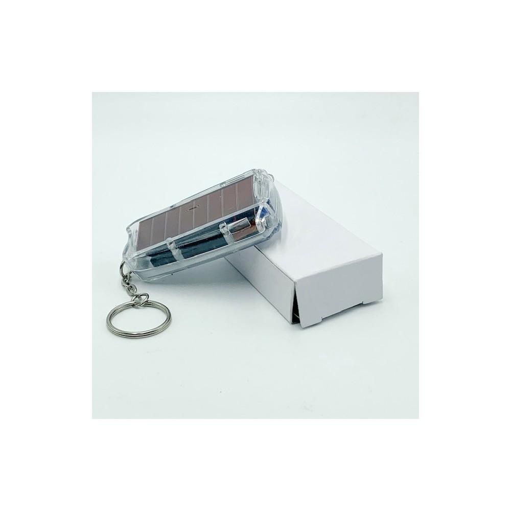 Porte clés lampe solaire