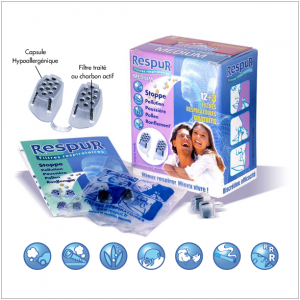 Filtre respiratoire Respur