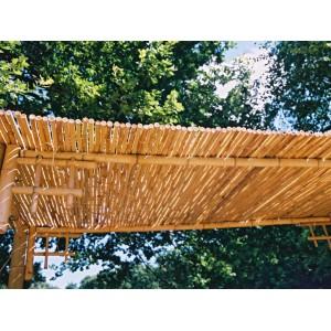 Clôtures bambou naturel