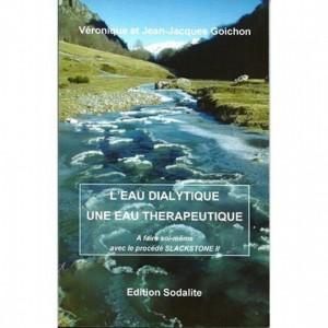 L'eau dialytique : une eau thérapeutique