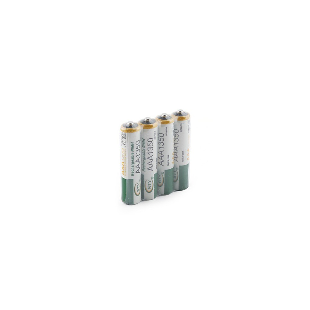 Lot de 4 piles rechargeables LR03