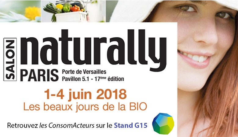 Rendez-vous au salon Naturally !